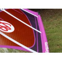Buy cheap 5-Batten Smart 4.7 Wind Surf Sail Durable Lightweight Sail with Purple / Orange / White Color from wholesalers
