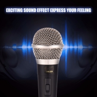 Buy cheap 40Hz Wired Dynamic Handheld Karaoke Microphone from wholesalers