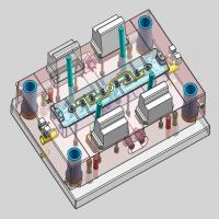 Buy cheap Precision Plastic Injection Mold Tooling , DFM Full 3D Injection Molding from wholesalers