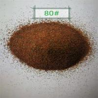 Buy cheap Water jet cutting abrasives  garnet sand 80mesh price china supply from wholesalers