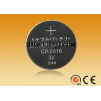 Buy cheap 3v  lithium  battery CR2016 button cell battery manufacturer from wholesalers