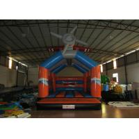 Buy cheap Airplane cartoon inflatable bouncer / commercial inflatable bouncer house from wholesalers