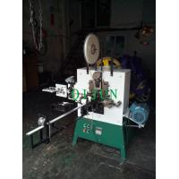 Buy cheap automatic gabion mesh wire ring machine,automatic stone cage wire clip making machine from wholesalers