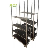 Buy cheap Hot Galvanized CC Container Danish Flower Trolley 100kg Per Shelf Load Capacity from wholesalers