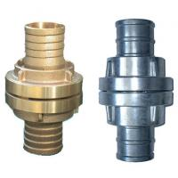 Buy cheap Hose End Brass Storz Fire Hose Fittings , Male Female Connection Fire Hydrant Adapter product
