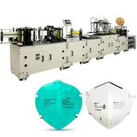 Buy cheap Industry Fully Automatic Mask Making Machine Face Respirator Production Line from wholesalers