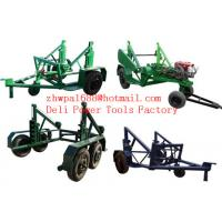 Buy cheap Cable Reel Trailer  Cable Reel Puller  Cable Conductor Drum Carrier from wholesalers