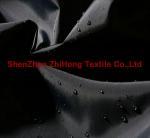 Buy cheap Waterproof bright wrinkled taffeta nylon fabric from wholesalers