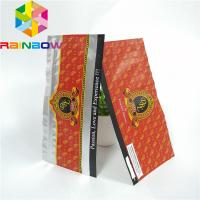 Buy cheap Resealable k Plastic Pouches Packaging Clear Holographic Frosted Cigar Food Storage from wholesalers