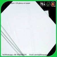 Buy cheap 200 230 250gsm 61*86cm Gloss Coated 2 Side Art Paper Couche Paper Matt Paper product
