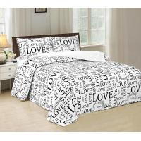 Buy cheap Disperse Printed Four Piece Bedroom Set No Bleaching With PVC Booking Packing from wholesalers
