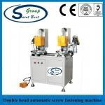 Buy cheap Automatic Screw Fastening UPVC Window Machine 13~45mm Screw Length from wholesalers