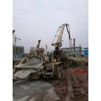 Buy cheap 2005 Year Zoomlion Pump Isuzu Truck Used Concrete Pump Truck 37m With Super Power from wholesalers