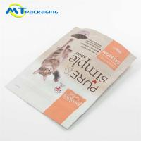 Buy cheap Stand Up Cat Food Pouches Water Proof With Matt Finished PET/AL/PE Material product