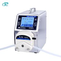 Buy cheap high accuracy nail polish/perfume/ink/oil/cosmetic/ liquid Filling peristaltic pump with calibration function from wholesalers