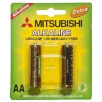 Buy cheap Lr6 Mitsubishi Alkaline Battery (LR6) AA battery from wholesalers