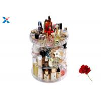 Buy cheap 360 Degree Rotating Acrylic Cosmetic Makeup Box Storage Organizer Color Customized from wholesalers