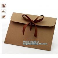 Buy cheap Factory wholesale A3 A4 A5 Blank Brown Paper envelopes for online shop,Eco friendly cheap paper envelope gift card envel from wholesalers