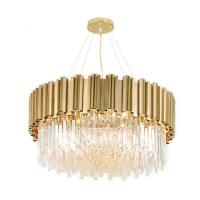 Buy cheap LED Decorative Contemporary Dining Room Chandeliers Projector Metal Crystal Material from wholesalers