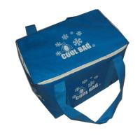 Buy cheap Dark Blue Lunch Box Insulated Cooler Bags For Men , 2mm Aluminium EPE Inside from wholesalers
