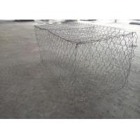 Buy cheap Lightweight Woven Hexagonal Gabion Box Galfan Wire Material Bridge Protection from wholesalers
