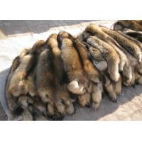 Buy cheap 100% Real Natural Raccoon Fur Pelt Detachable Lush Soft For Clothes Hood from wholesalers