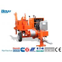 Buy cheap 30kN Hydraulic Transmission Line Stringing Equipment Puller Cummins Engine from wholesalers