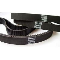Buy cheap Heat / Oil Resistant Industrial Timing Belts Rubber Material Black Color from wholesalers