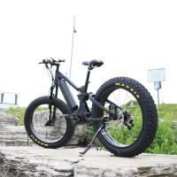Buy cheap Alloy Frame Fast Speed E Fat Bike 48V 1000W With 8 FUN G510 Middle Motor from wholesalers