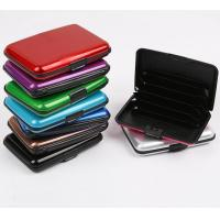 Buy cheap Name Card Holder, Credit Card Holder, Aluminum Business ID Card Holder from wholesalers