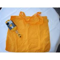 Buy cheap Yellow polyester foldable Shopping bag-strong and waterproof bag product