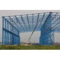 Buy cheap ISO Standard Larger Span Workshop Steel Structure Construction from wholesalers