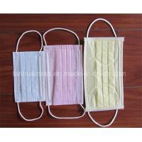 Buy cheap Disposable 3 Ply Non-Woven Medical Face Mask from wholesalers