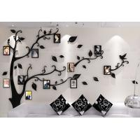 Buy cheap living room decor lovely sticker tree wall acrylic kids wall sticker photo frame tree wall sticker from wholesalers