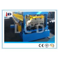 Buy cheap Floor Decking Sheet Metal Forming Machine PLC Control 9 Ton New Condition from wholesalers