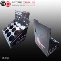 Buy cheap custom canning box counter display stand from wholesalers