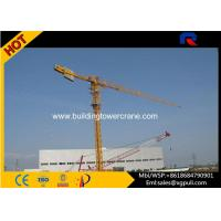 Buy cheap 0.6r/Min Slewing Speed Topless Tower Crane For Constructions CE&ISO from wholesalers