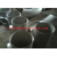 Buy cheap Stainless Steel Tee ASTM A234 GR WPB , ST37.2 , ST35.8Din 1.4301 , 1.4306 , 1.4401 , 1.457 from wholesalers
