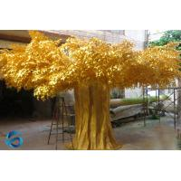 Buy cheap Waterproof Artificial Ficus Tree Visual Feast For Landscaping / Hotel from wholesalers