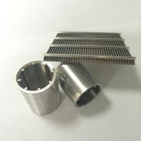 Buy cheap Wedge Wire Screen|Welded Mesh Slot Size 0.01mm 30~125V for Filtering from wholesalers