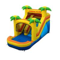 Buy cheap Customized Cheap Price Commercial Tropical Type Inflatable Jungle Slide For Kids from wholesalers
