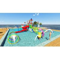 Buy cheap Commercial Kid Water Park Design Fiberglass Pool Play Water Equipment from wholesalers