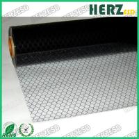 Buy cheap No Powder / Oil ESD PVC Grid Curtain , Anti Static PVC Curtain Size 1.37 X 30m from wholesalers
