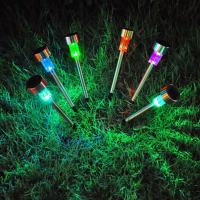 Buy cheap Outdoor Solar Power LED Garden Lights Lawn Lamps Spot Light  IP65 White RGB  CE Rohs from wholesalers