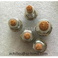 Buy cheap reliable supplier female 1B shell size ECG.1B.304.CLL 4 pin lemo fixed socket panel mount connector from wholesalers