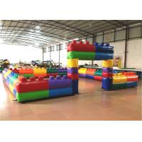 Buy cheap Outdoor Kids Inflatable Sports Games / Field Waterproof Maze Themed Colorful 6 X 6m from wholesalers