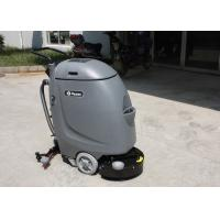 Buy cheap Smaller Size Hand Push Cleaner Compact Floor Scrubber Machine With 20m Electrical Wire from wholesalers