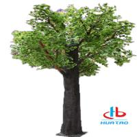 Buy cheap 1.5m-3m Height Artificial Green Plants Synthetic Fake Tree For Indoor And Outdoor Decoration from wholesalers