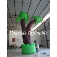 Buy cheap best selling outdoor party decoration inflatable palm tree replica for advertising from wholesalers