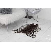 Buy cheap Animal Printed Faux Animal Shaped Rugs Carpet Large Cow Hide Floor Rug For Living Room from wholesalers